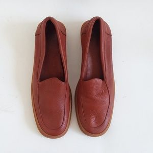 COLE HAAN TAN BROWN LEATHER SHOES LOAFERS SIZE 8 A